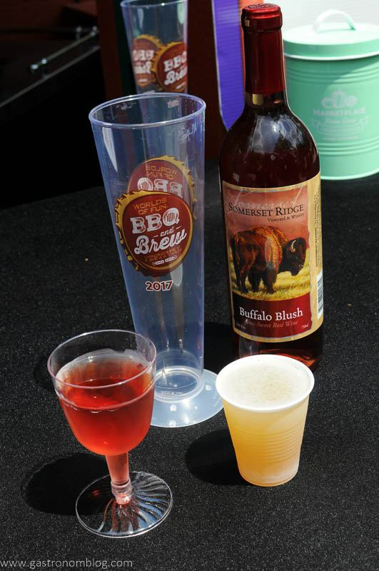 Wine and beer at the KC Flavor Festival