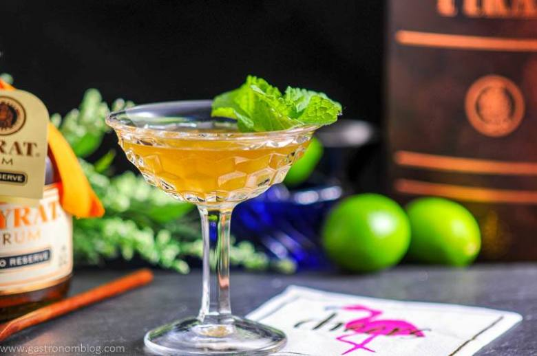 The Shipwreck - A Rum and Lillet Cocktail for National Rum Day 2017