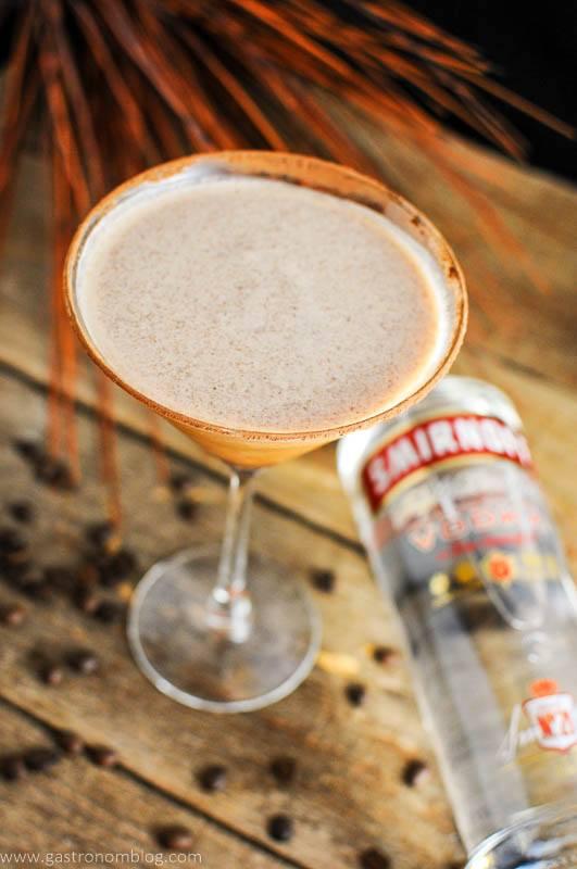 Prettay Prettay Prettay Good Latte Martini with Smirnoff Vokda