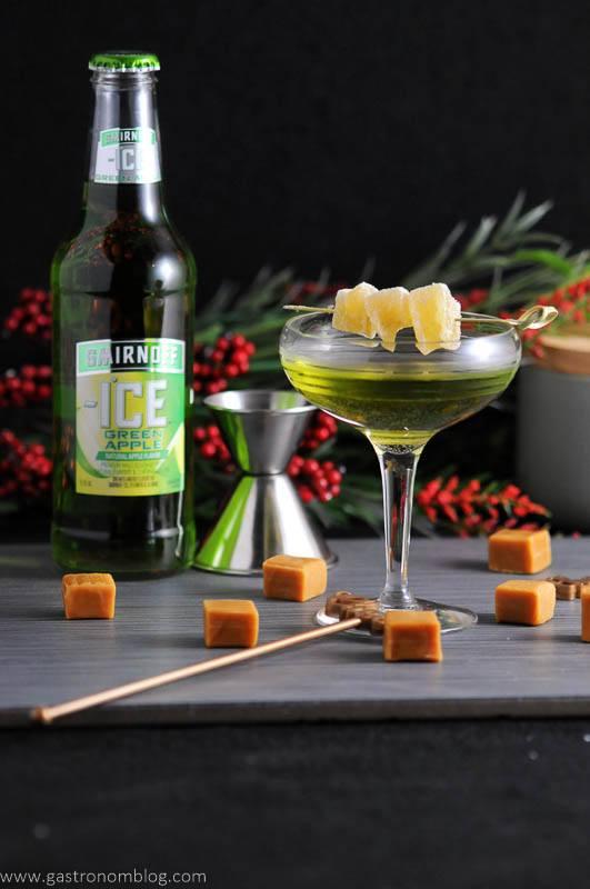 Caramel Green Apple Cocktail