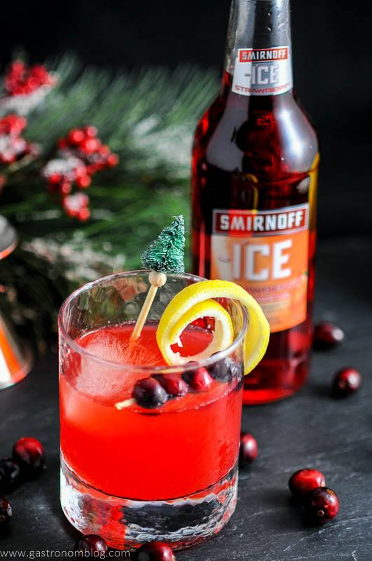 The Holiday Berry Sparkler with Smirnoff Ice