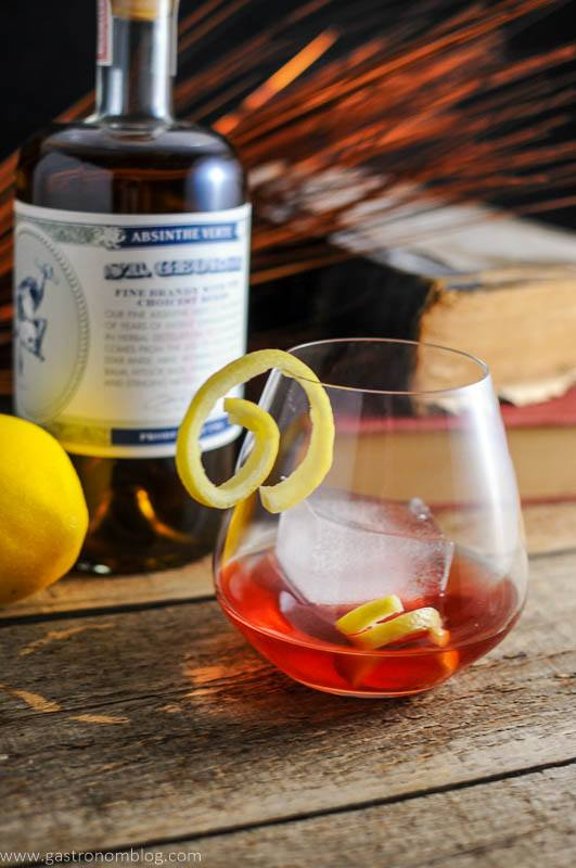 Blackberry Sazerac and a visit to St. George Distilling