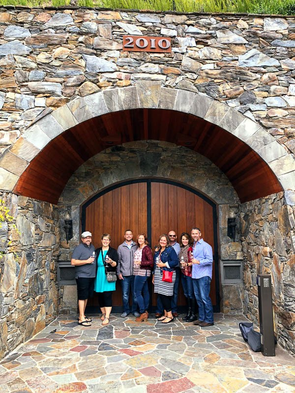 The Caves at Thomas George Estates Winery!