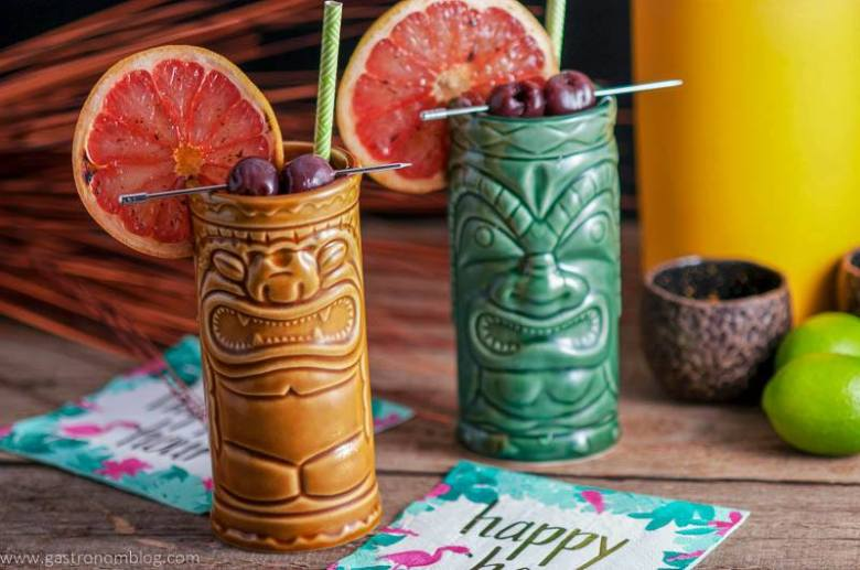 The Ramber's Ruby – A Tiki Cocktail
