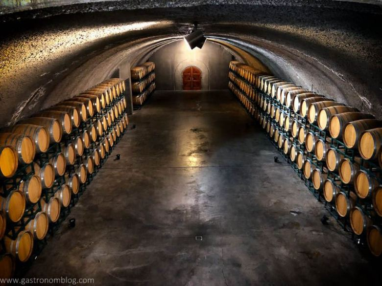 One of the caves at Sonoma's Gloria Ferrer Caves and Vineyards.