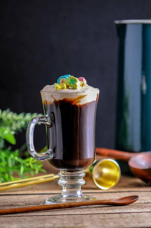 Toasted Cream Irish Coffee  – A Whiskey Cocktail