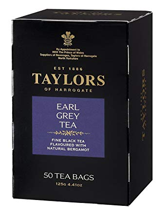 Taylors of Harrogate Earl Grey, 50 Teabags