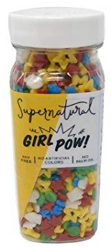 Supernatural Girl Pow! Natural Sprinkle Blend | Soy-Free & Vegan
