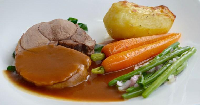 Roast Lamb-Печено агнешко