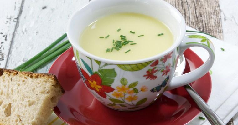 Vichyssoise /Крем супа от картофи и праз (Вишисуъз)