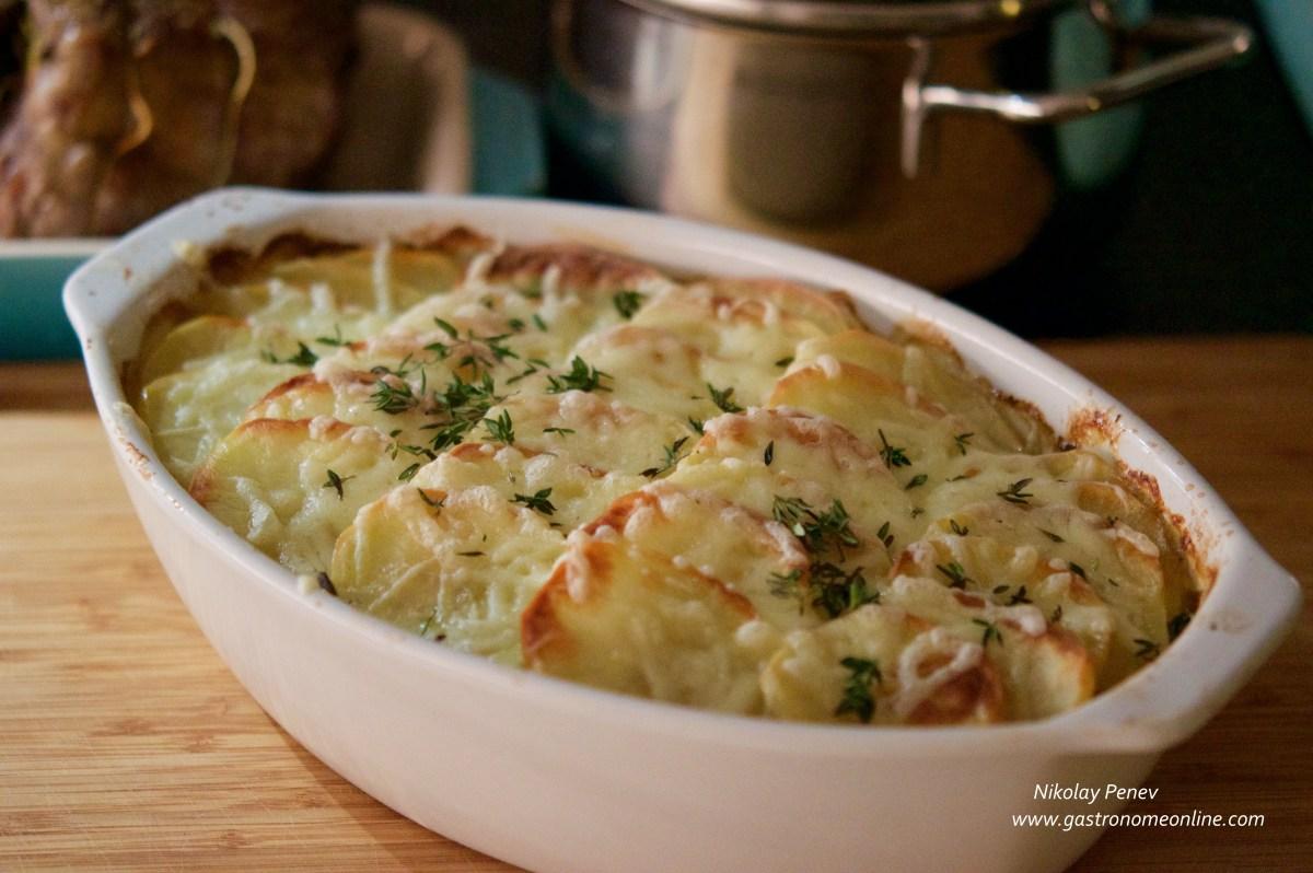 Potatoes Boulangers / Картофи Буланже
