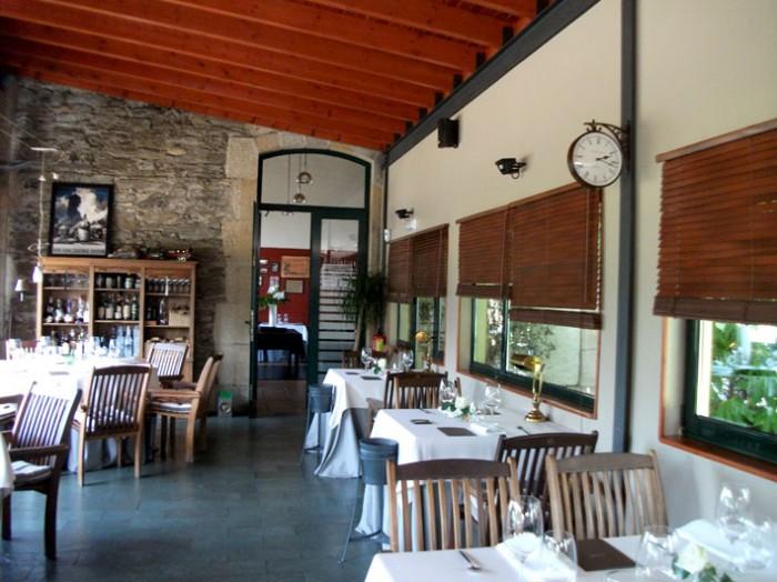 A Estacin Restaurante Cambre Galicia 1 estrella