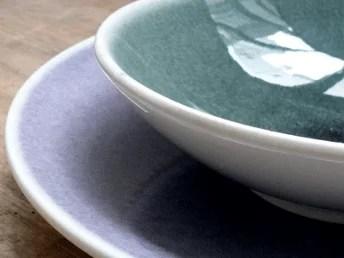 Vaisselle en grès émaillé