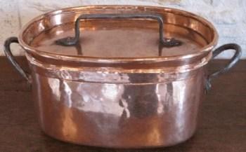Daubière Daubière en cuivre étamé
