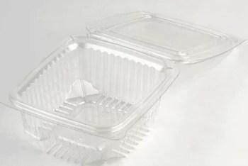 Barquette alimentaire en plastique