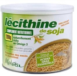 Boîte de lécithine de soja