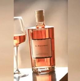 Bouteille de rosé de Provence « design »