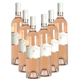 Bouteilles de rosé de Provence