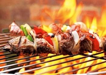 Brochettes de bœuf au barbecue