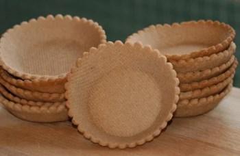 Fonds de tartelette cuits