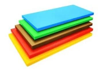 Planches à découper polyéthylène différenciées