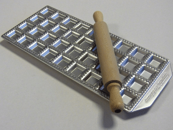 Moule à raviolis en inox