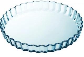 Moule à tarte en verre borosilicate