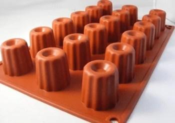 Moules à cannelés en silicone