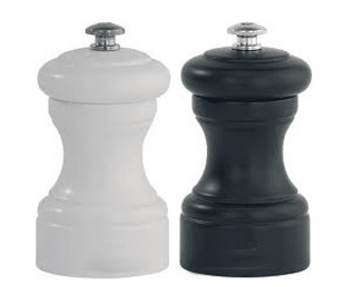 Moulins à sel et moulin à poivre