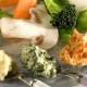 Panachés de légumes aux trois beurres composés