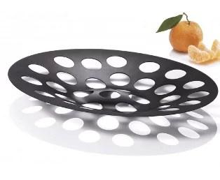 Plateau à fruits design à perforations
