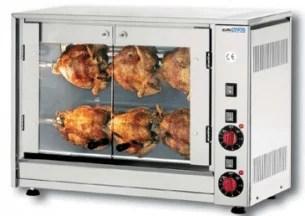 Rôtissoire électrique six poulets