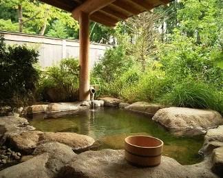 Source et bains onsen