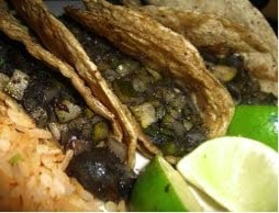 Tacos aux cuitlacoches