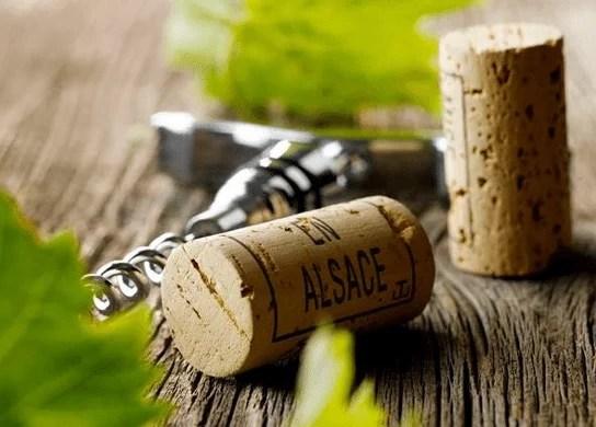 Bouchon de vin d'Alsace