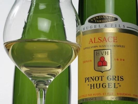 Pinot gris Vendanges Tardives Hugel & Fils