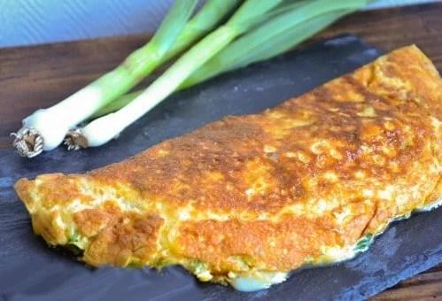 Omelette à l'aillet