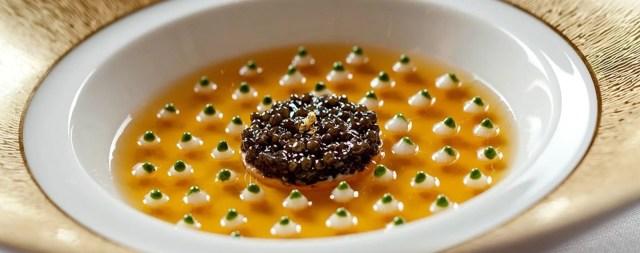 Fine gelée au caviar