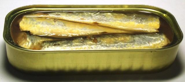 Sardines à l'huile et au citron