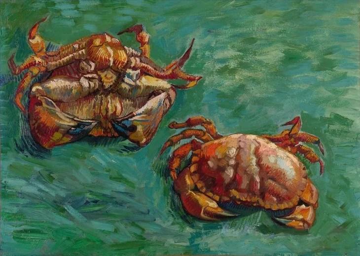Deux crabes de Vincent Van Gogh