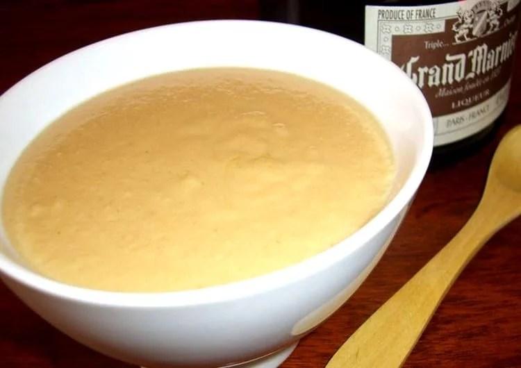 Sauce à la vanille et au Grand Marnier