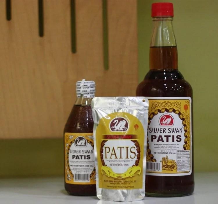 Sauces Patis
