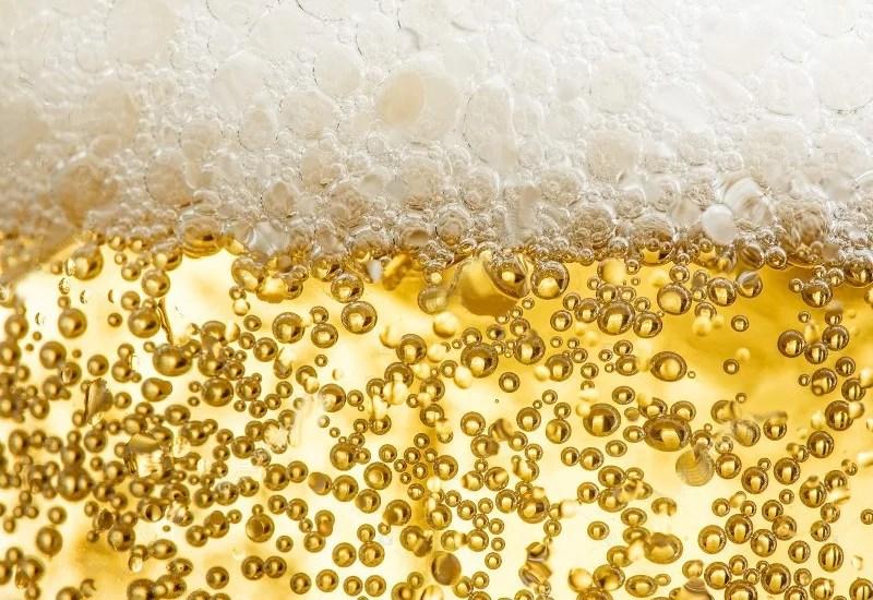 Mousse de bière blonde