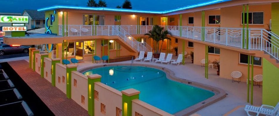 Motel avec piscine