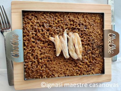 arroz de espardeñas