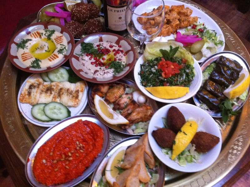Mezz il Libano in bocconi  GIEMME  Gastronomia