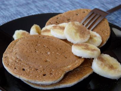 Tortitas de plátano de Cocina de Nihacc