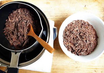 Atemperar chocolate 1