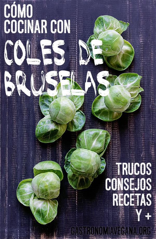 Cocinar con coles de Bruselas