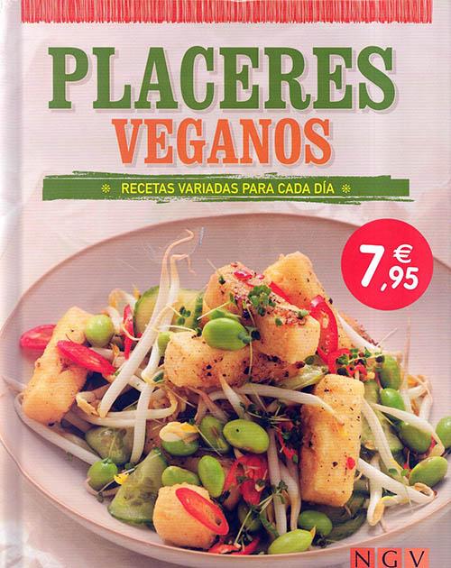 Libros de cocina vegana en castellano: placeres veganos